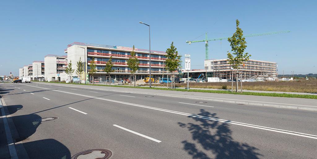 Baustelle Bildungscampus, Foto: Christoph Mukherjee