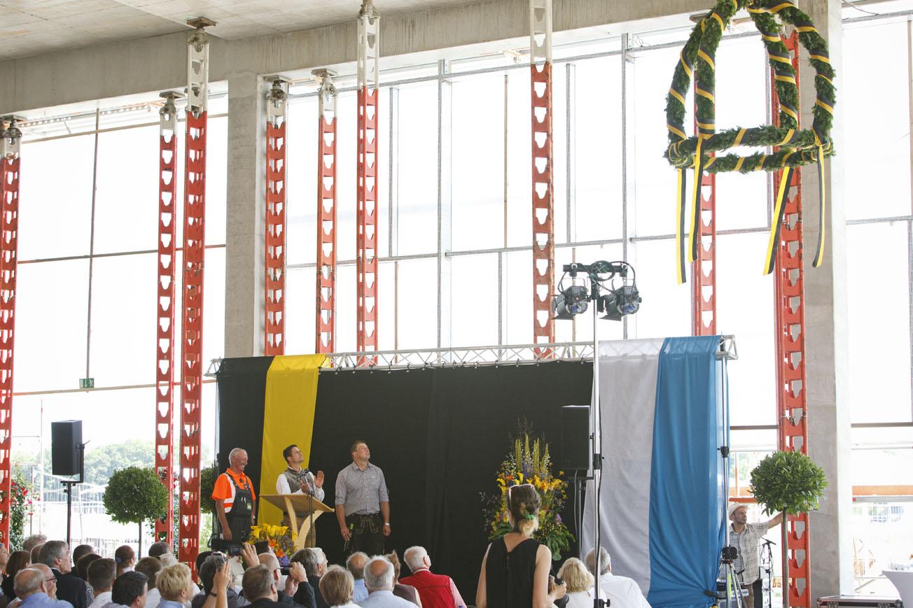 Richtfest für den Bildungscampus Freiham, Foto: Christoph Mukherjee